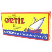 Ortiz Anchovy Fillets in Olive Oil - 47.5g